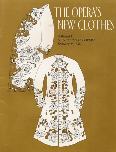 Opera's New Clothes Program Cover