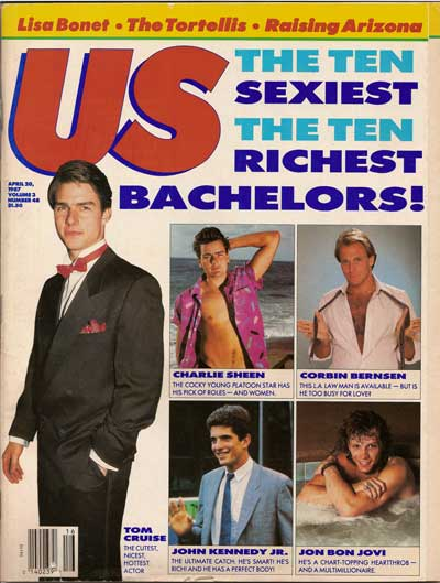 US Magazine Cover, April 20, 1987